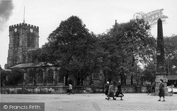 Parish Church Of St Mary The Virgin c.1955, Leigh