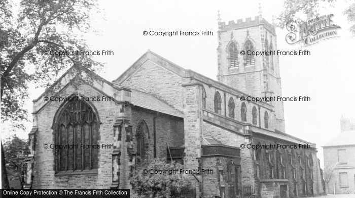 Photo of Leigh, Pennington Church c.1955