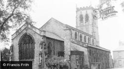 Pennington Church c.1955, Leigh