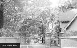 Pennington Hall Entrance c.1955, Leigh