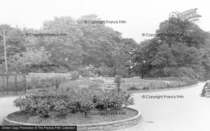 Photo of Leigh, Pennington Hall Gardens c.1955