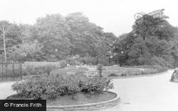 Pennington Hall Gardens c.1955, Leigh