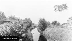 River Glaze c.1955, Leigh