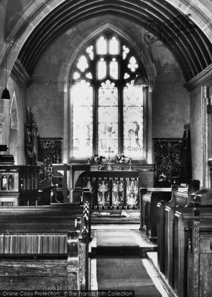 Photo of Leigh, St Andrew's Church Interior c.1960