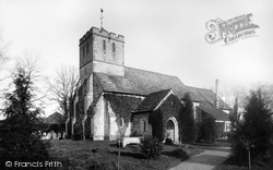 Leigh, St Bartholomew's Church 1886