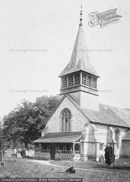 Photo of Leigh, St Bartholomew's Church 1904