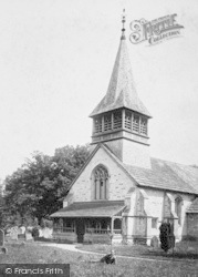 Leigh, St Bartholomew's Church 1904