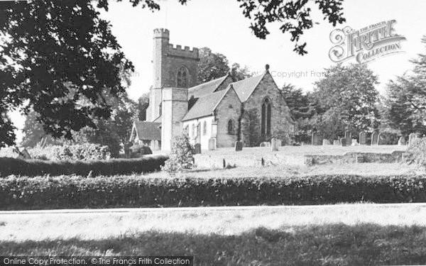 Photo of Leigh, The Church c.1955