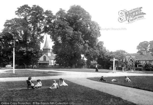 Photo of Leigh, The Green 1904