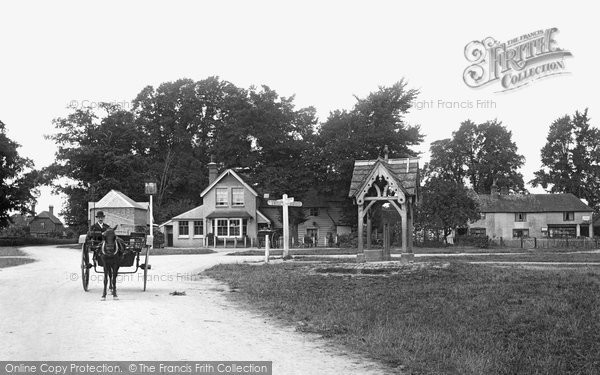Photo of Leigh, The Village 1906