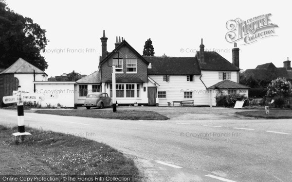 Photo of Leigh, The Village c.1955