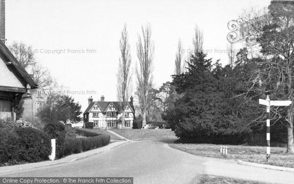 Photo of Leigh, Tonbridge Road c.1960