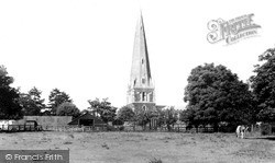 All Saints Church c.1955, Leighton Buzzard