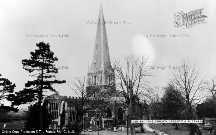 Photo of Leighton Buzzard, All Saints Church c.1965