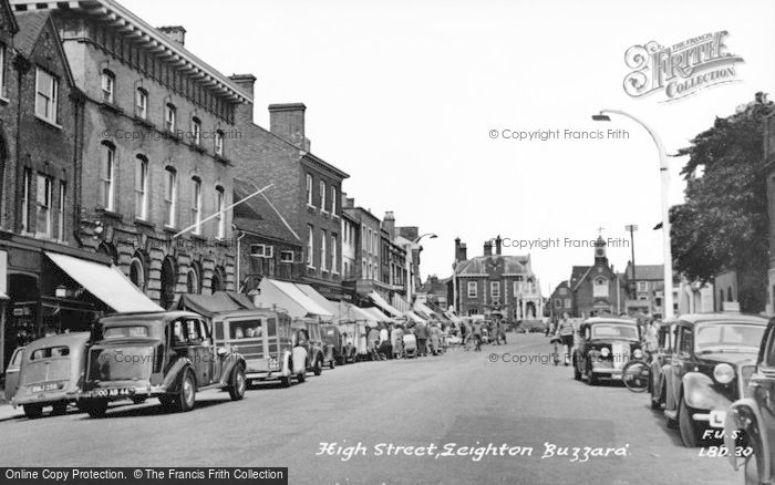 Photo of Leighton Buzzard, High Street c.1955