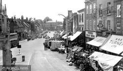 Market Day c.1955, Leighton Buzzard