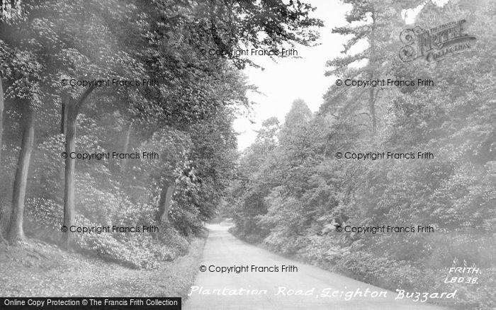 Photo of Leighton Buzzard, Plantation Road c.1955