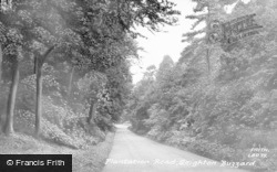 Plantation Road c.1955, Leighton Buzzard