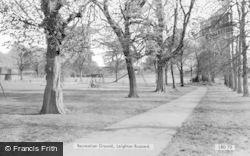 Recreation Ground c.1965, Leighton Buzzard