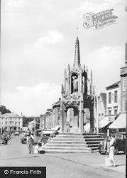 The Cross c.1955, Leighton Buzzard