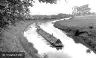 Leighton Buzzard, the Grand Union Canal c1955