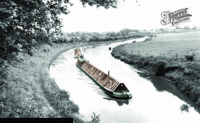 Photo of Leighton Buzzard, The Grand Union Canal c.1955