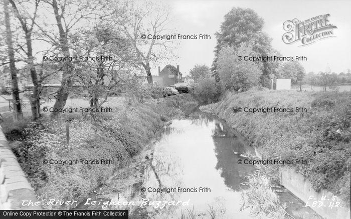 Photo of Leighton Buzzard, The River c.1955