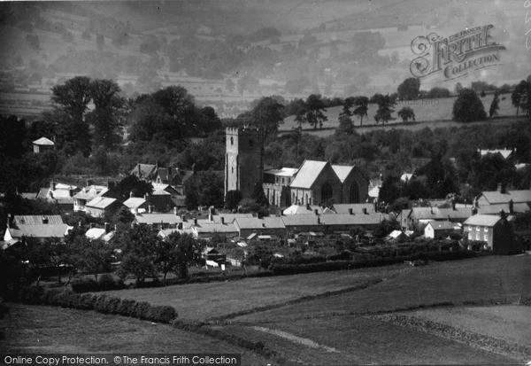 Photo of Leintwardine, Church Of St Mary Magdalene And Village c.1955