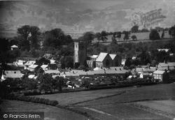 Church Of St Mary Magdalene And Village c.1955, Leintwardine