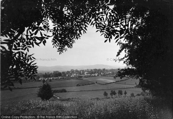 Photo of Leintwardine, Distant View c.1955
