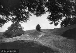 Old Earth Works, Church Hill c.1955, Leintwardine