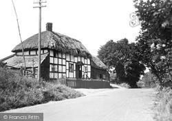 Thatched Cottage c.1955, Leintwardine