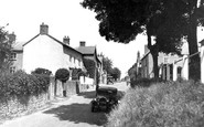 Leintwardine, the Bank c1955