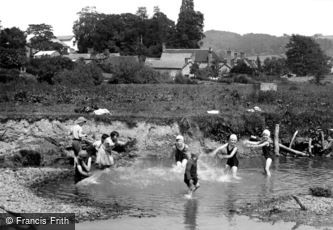 Leintwardine, the Bathing Pool c1955