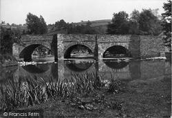 The Bridge c.1955, Leintwardine