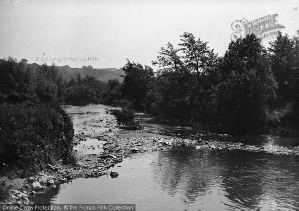 Photo of Leintwardine, The River Teme c.1955