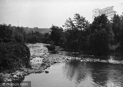 The River Teme c.1955, Leintwardine
