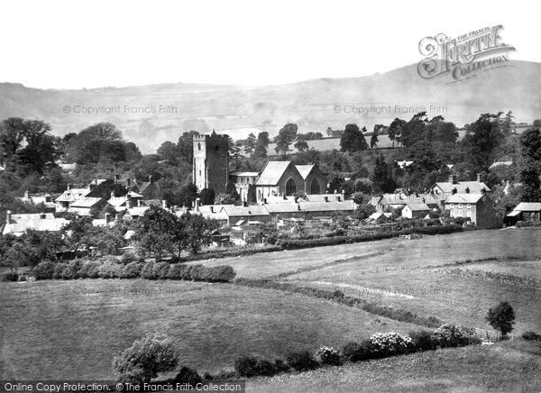 Photo of Leintwardine, The Village c.1955