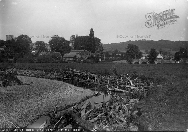 Photo of Leintwardine, View From Brookley Meadow c.1955