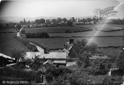 View From Foot Of Church Hill c.1955, Leintwardine
