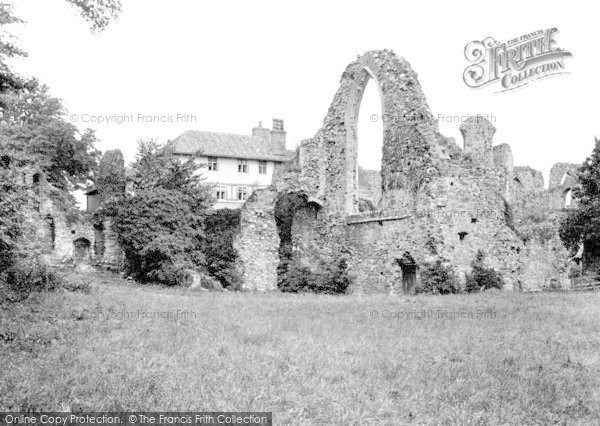 Leiston, Abbey 1929
