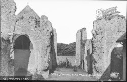 Abbey, The Nave c.1955, Leiston