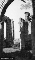 Abbey, The Norman Archway c.1955, Leiston