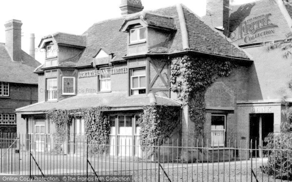Photo of Leiston, Barclays Bank Limited 1922