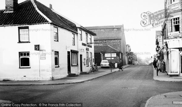 Photo of Leiston, Black Horse Corner c.1960