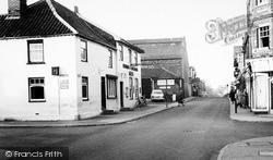 Black Horse Corner c.1960, Leiston