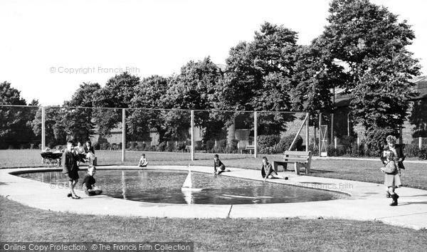 Photo of Leiston, Children's Boating Pool c.1955