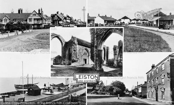 Photo of Leiston, Composite c.1955