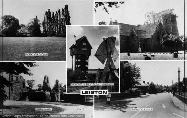 Photo of Leiston, Composite c.1960