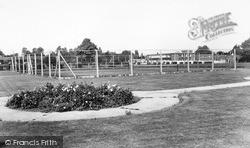 Haylings Road Recreation Ground c.1960, Leiston